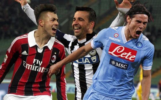 Daftar Pencetak Gol Serie A Liga Italia 2012/2013
