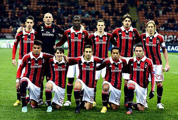 Daftar Pemain (Skuad) AC Milan 2013